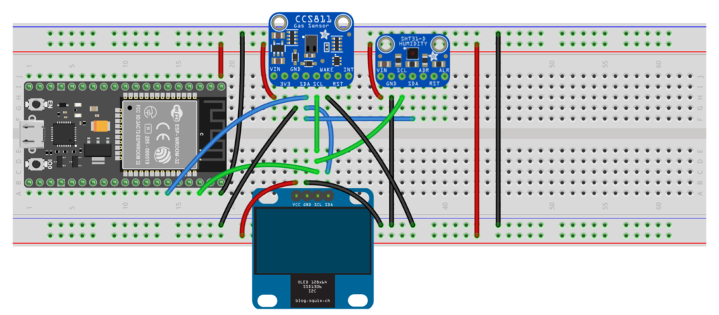 A wiring diagram.