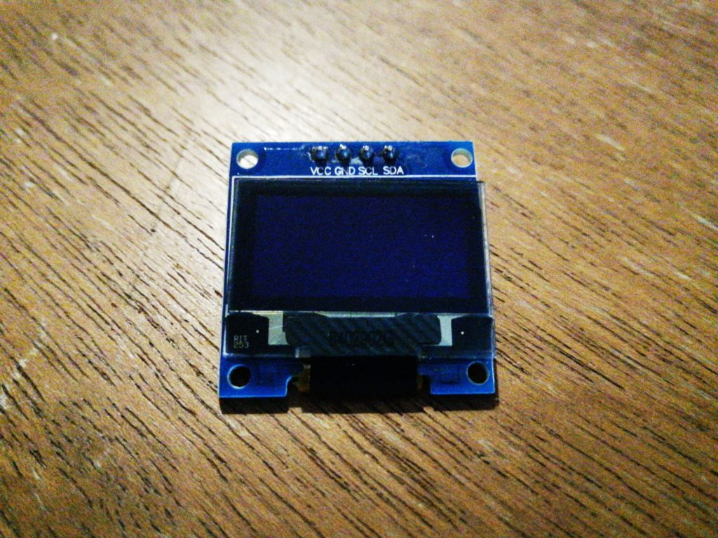 An SSD1306 based OLED module.