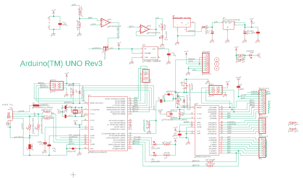 How To Read The Arduino Schematic Diagram Learn Circuitrocks