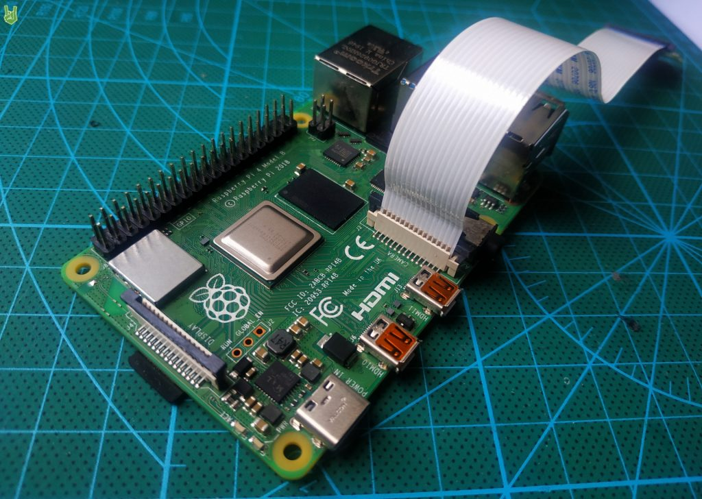 How to install the raspberry pi camera module